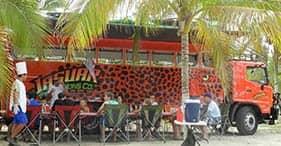 Jaguar Truck Mayan Adventure Expedition