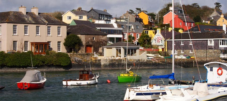 Kinsale Harbour on your Ireland cruise