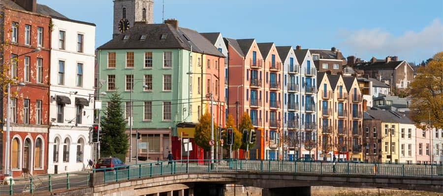Cruise to St Patrick's Quay in Cork, Ireland