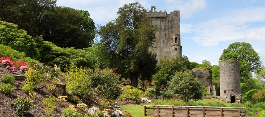 Blarney castle on your Europe cruise