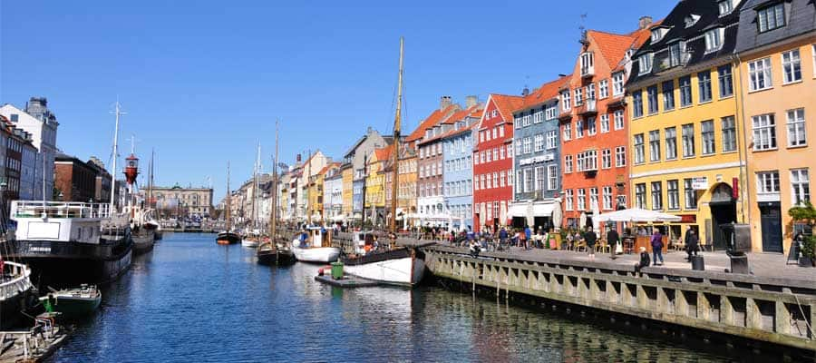 Nyhavn Pier on your Copenhagen Cruise