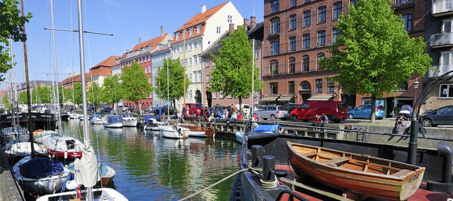 Christianshavn on your Copenhagen cruise
