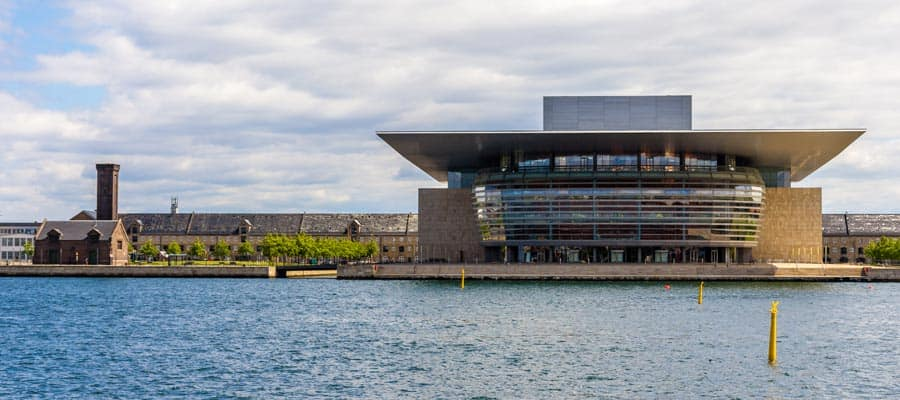 Copenhagen Opera House on your Europe holiday