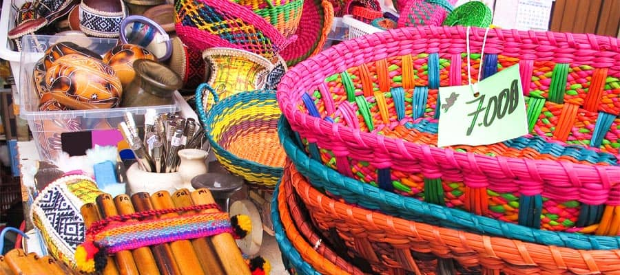 Pick up some traditional souvenirs on your Coquimbo cruise