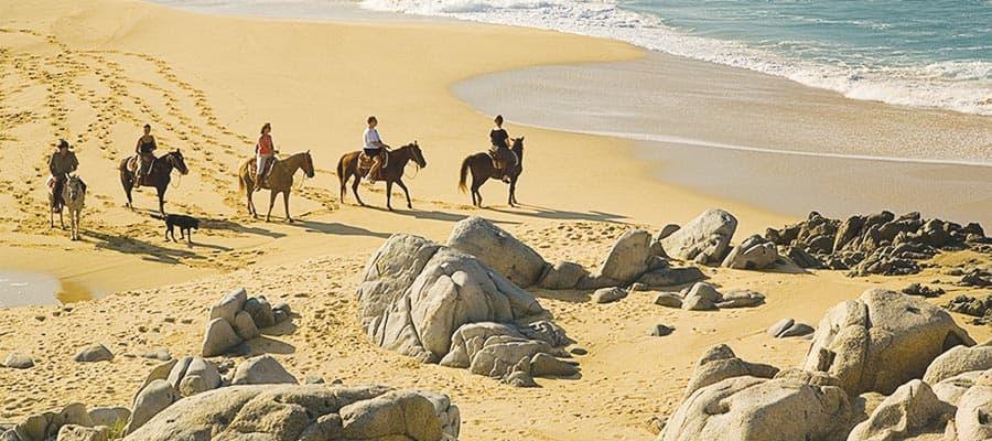 Cabo San Lucas a cavallo