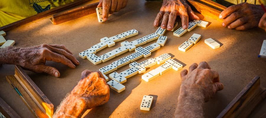 Dominoes games on your Cuba cruise