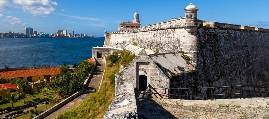 Morro Castle in Havana on your Cuba cruise