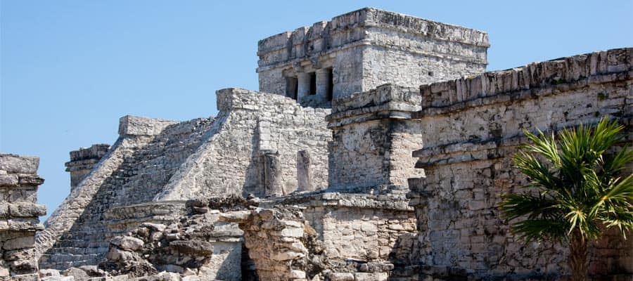 Mayan ruins in Cozumel, Mexico