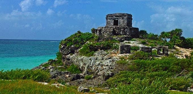 Tulum Ruins Xel Ha Park Cozumel Mexico