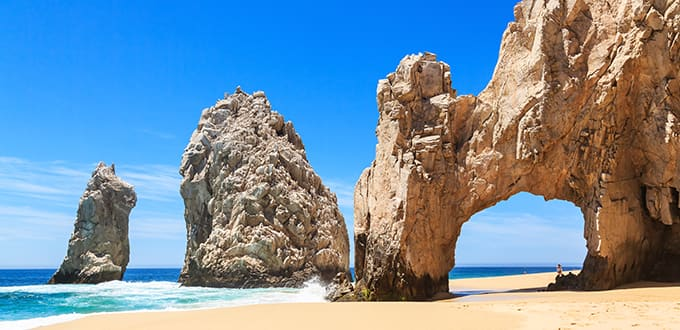 Rock Arches in Cabo San Lucas