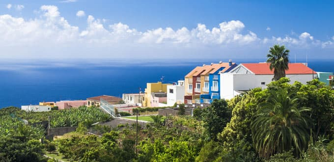 Explore the vibrant architecture of Santa Cruz de la Palma