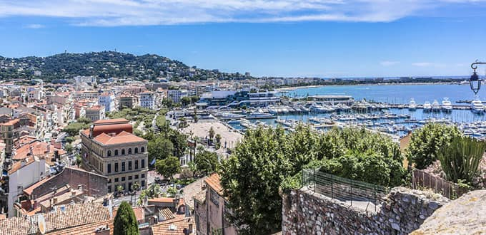 Breath in the fresh ocean air as you take in the view of the magnificent Cannes coastline