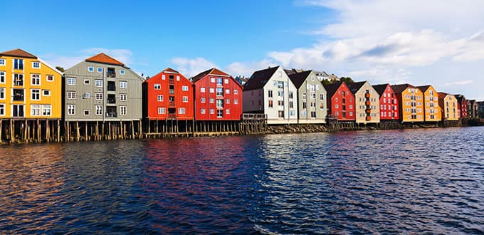The charm of Norway's Wooden City will captivate you.
