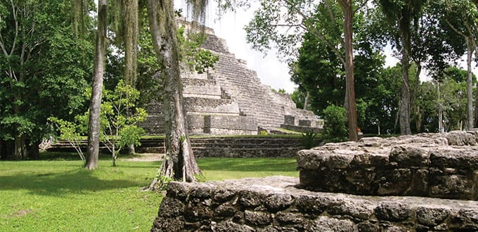 Explore the ruins in Cozumel