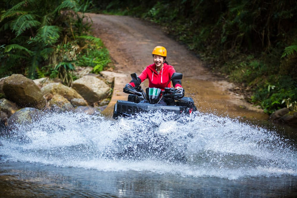 ATV Jungle Riding in Costa Maya Mexico on a Caribbean Cruise with Norwegian