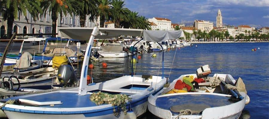 Hafen von Kroatien