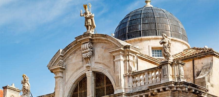 Iglesia de San Blasius durante tu crucero por Europa