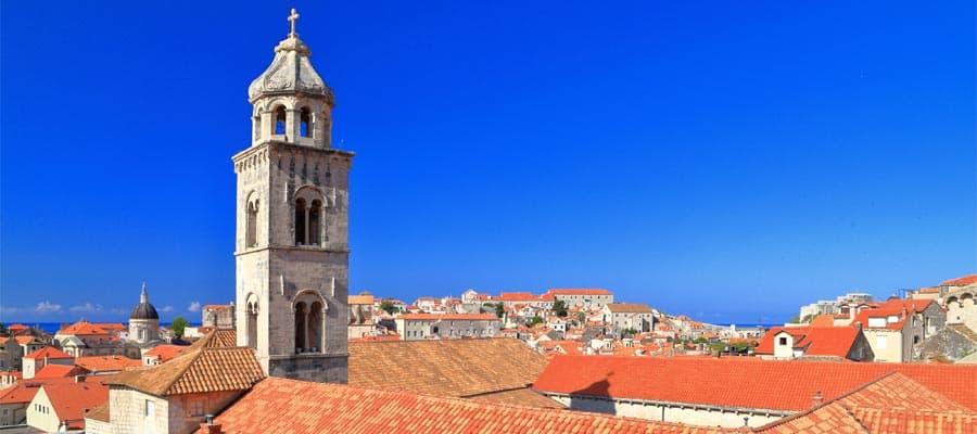 Das kroatische Dubrovnik auf Ihrer Europakreuzfahrt