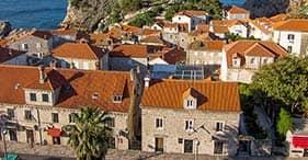 Dubrovnik, village et dégustation de vins