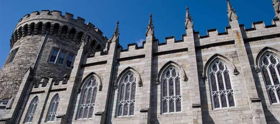 Arquitectura hermosa en Dublín, Irlanda