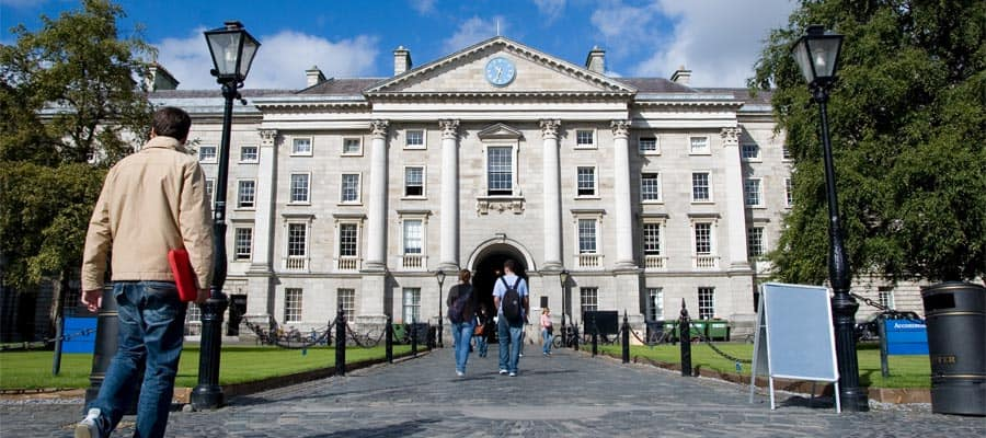 Trinity College on your Ireland cruise