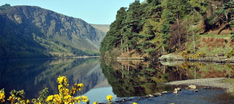 Glendalough, dans le comté de Wicklow, pendant votre croisière en Irlande