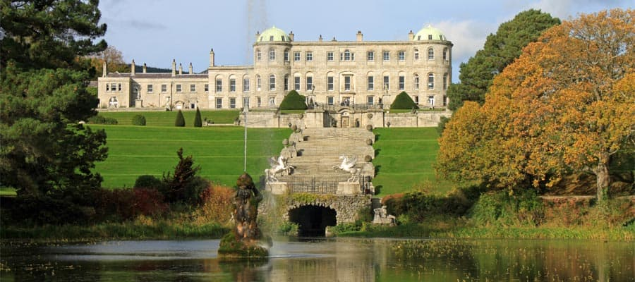Powerscourt House in Dublin, Ireland