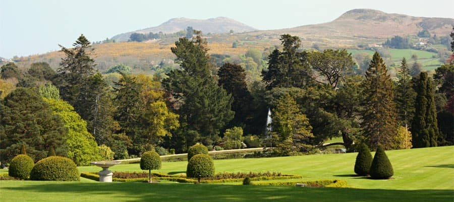 Powerscourt Garden on your Ireland cruise holiday