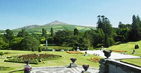 Paesaggi rilassanti e giardini di Powerscourt