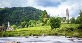 Irish Countryside & Glendalough
