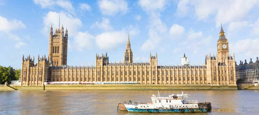 Cruise the Thames River when you visit London