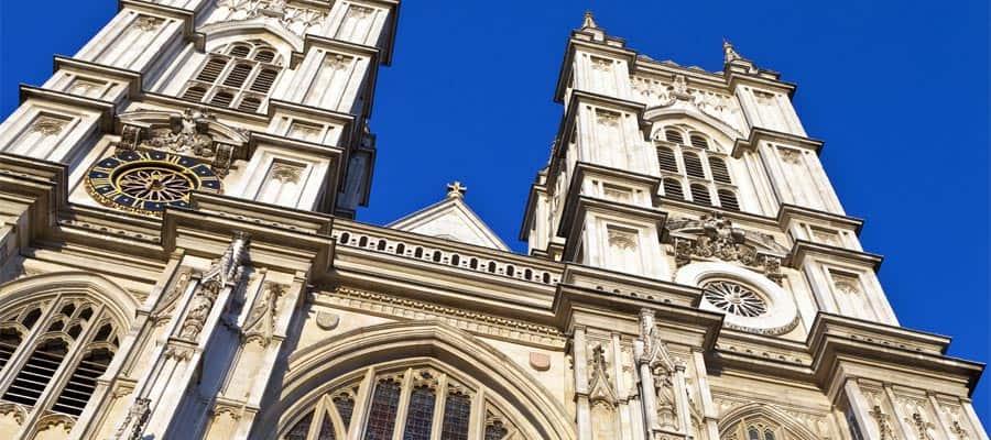 L'abbaye de Westminster est incontournable lors de votre croisière à Londres