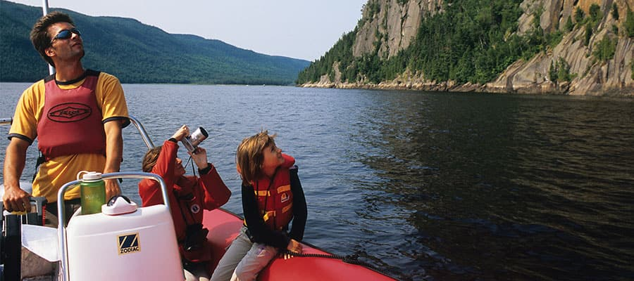 Visit Saguenay National Park when cruising to Quebec