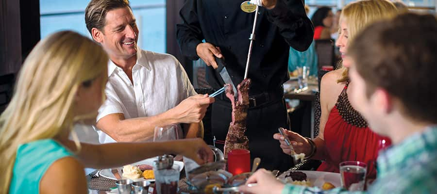 Dine at Moderno on your transatlantic cruise