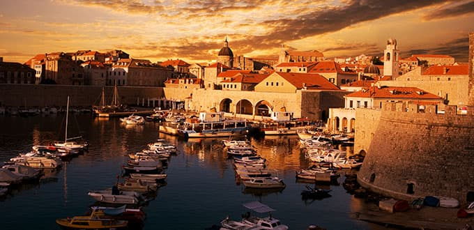 Take a walk in the walled city of Dubrovnik.