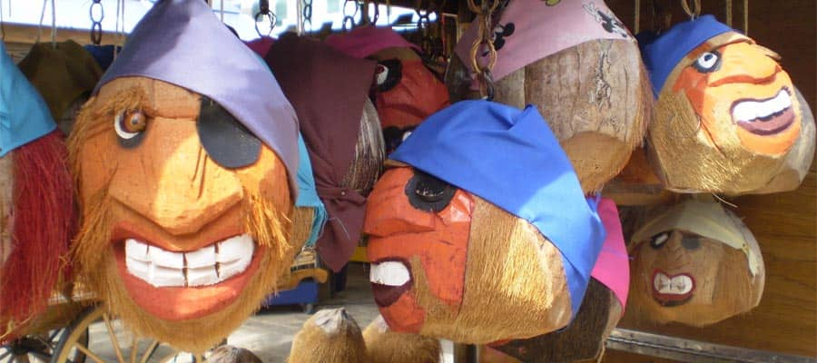 Whimsical crafts on your Key West cruise