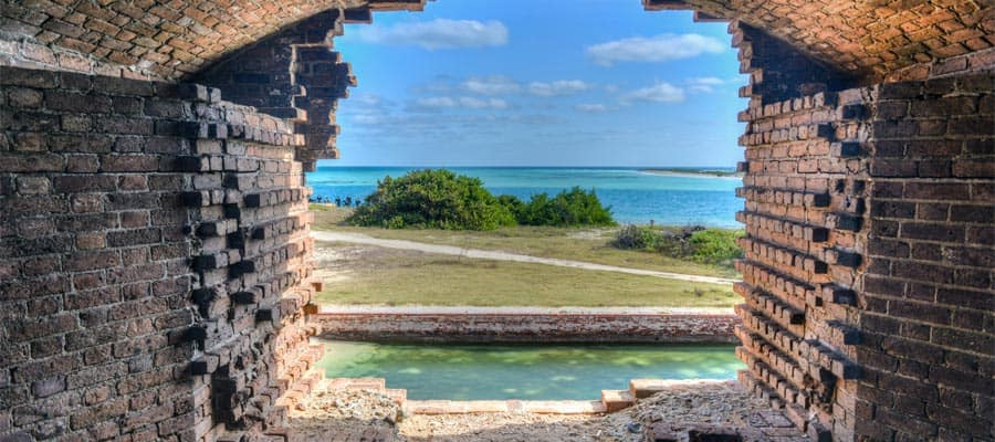 Stunning views on your Caribbean cruise from Key West