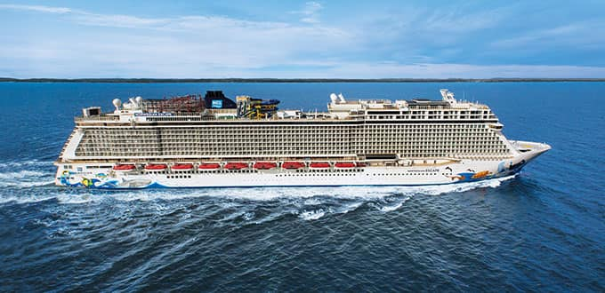 Meet our newest and most exciting cruise ship
