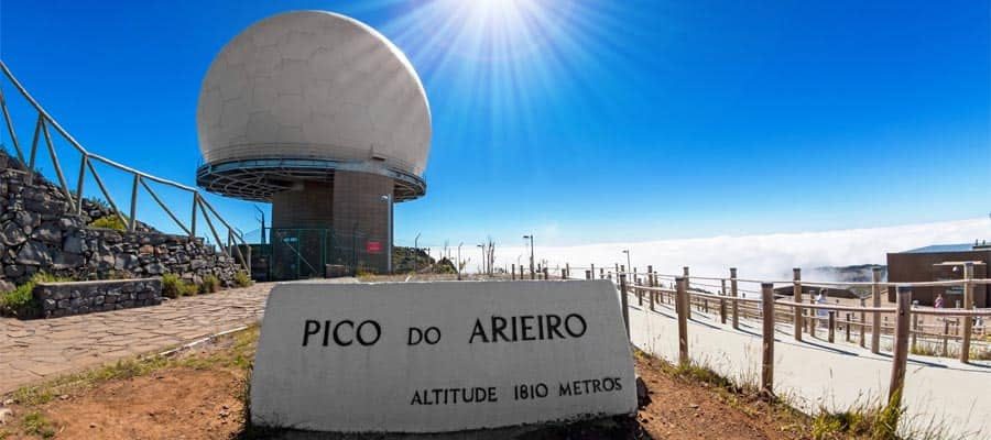Cruise to Funchal and visit Pico do Arieiro