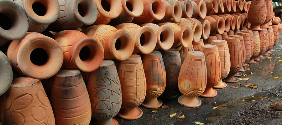 Earthenware on Cruise to Fujairah