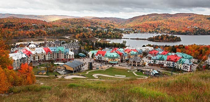 Say bonjour in Mont-Tremblant and in Quebec City.