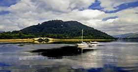 Panoramici laghi scozzesi