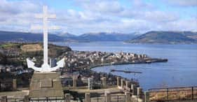 glasgow (greenock), scotland - coastal anchor