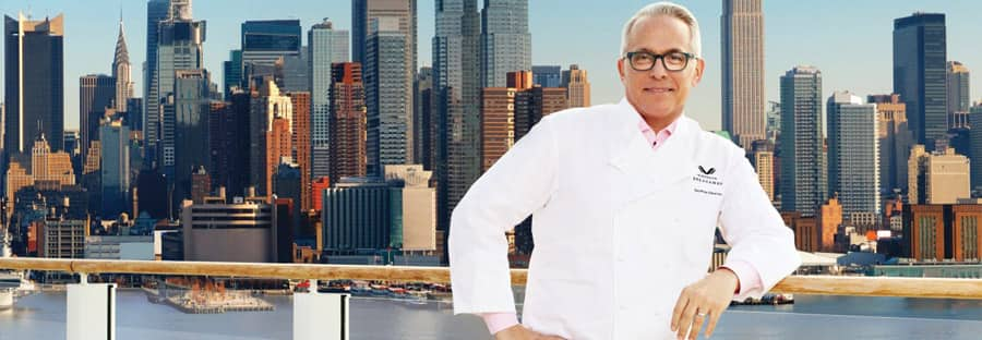 Norwegian Cruise Line Celebrity Chef Geoffrey Zakarian