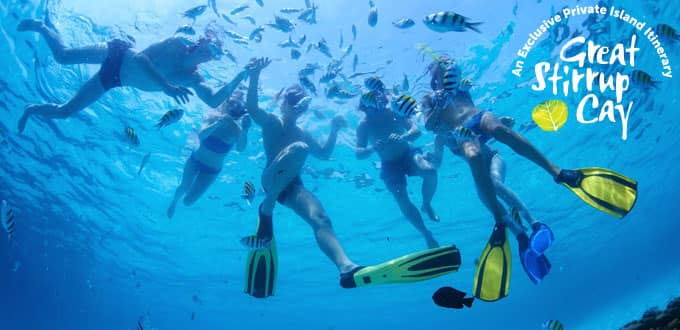 Snorkel in crisp, clear waters in Grand Cayman