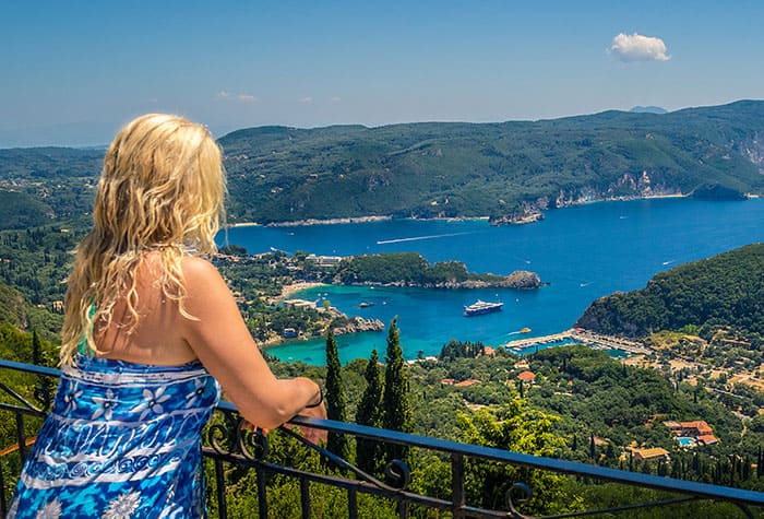 Unmatched views in Corfu, Greece
