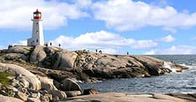Coastal Drive to Peggy's Cove