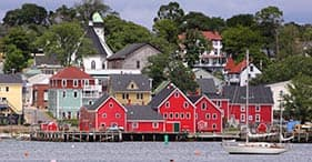 Iconic Towns On Nova Scotia