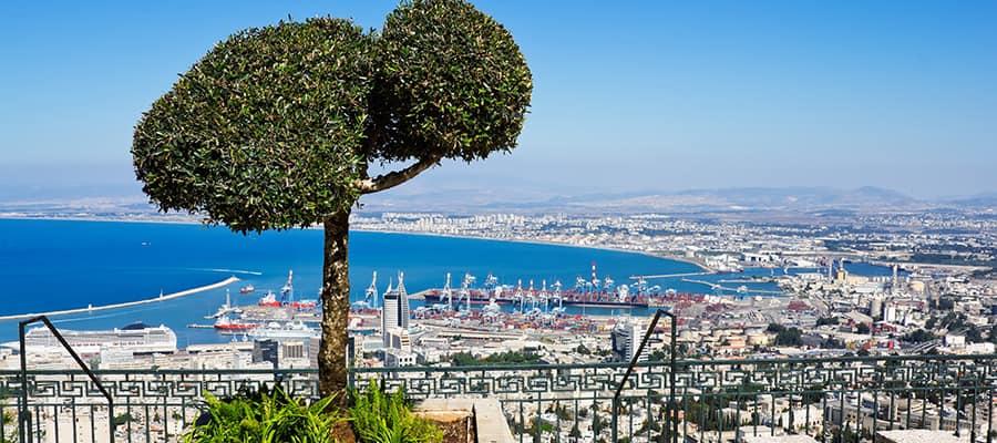 Monte Carmelo en tu crucero a Haifa