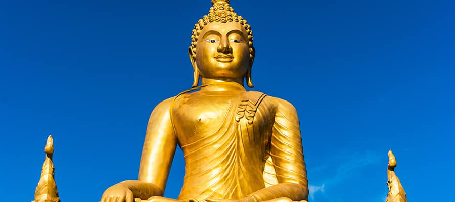 Golden Buddha on your Phuket Cruise